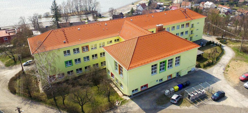 Sběr druhotných surovin na Základní škole Jedovnice