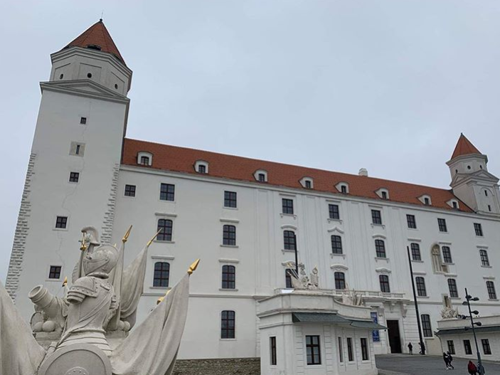 Exkurze do Bratislavy 16. 12. 2019