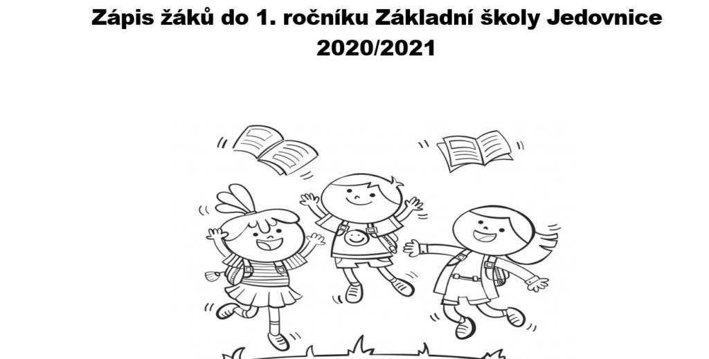 Zápis dětí do prvních tříd