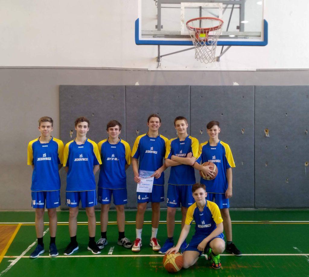 Okresní kolo základních škol v basketbalu